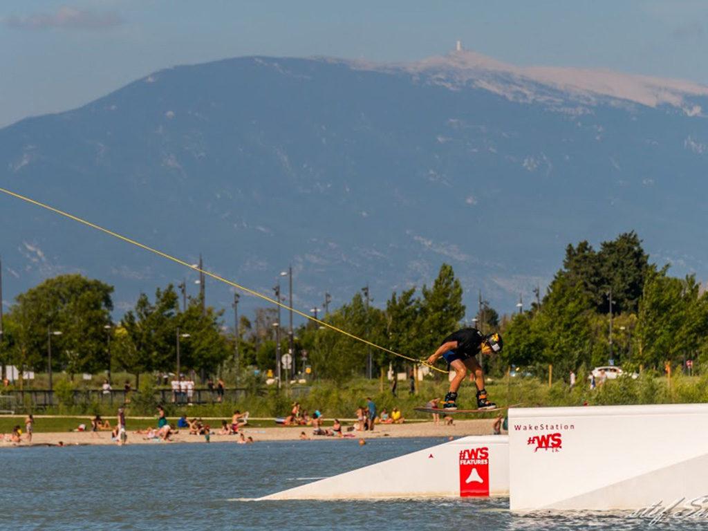 Ça s'est passé au Lac de Monteux Provence !