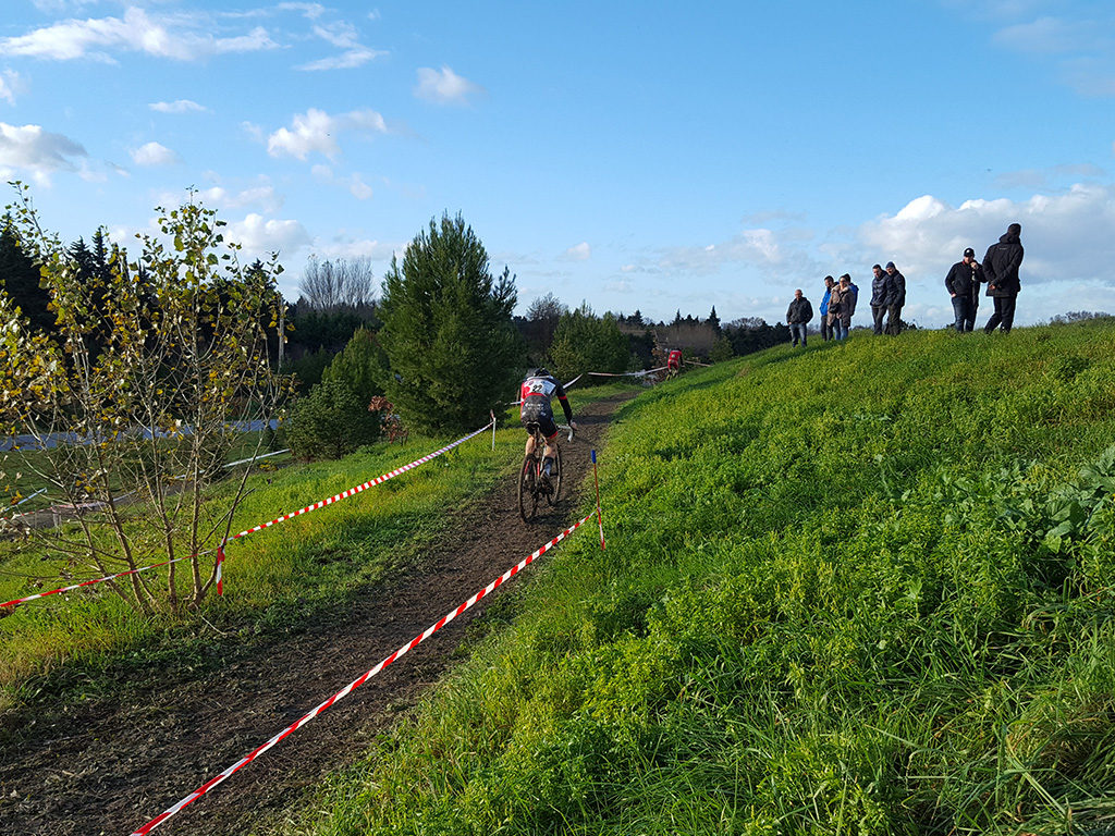 Compétition de cyclo-cross