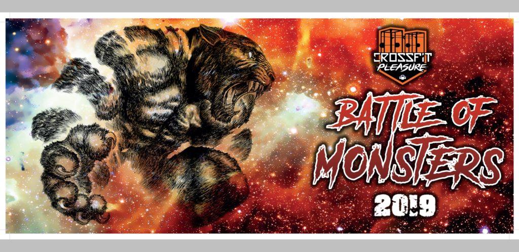 Battle of Monsters 2019 : Challenge de Cross-Fit par équipe